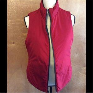 ~Red/Black~ Puffer Vest Merona